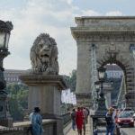 Hungary, Budapest, Széchenyi Chain Bridge