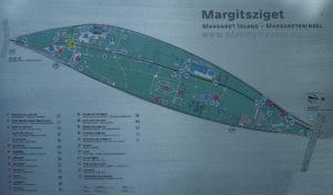 plan Wyspa Małgorzaty Budapeszt - top 5 atrakcji