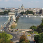 Hungary, Budapest, Castel Hill view