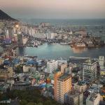 Korea Południowa Busan widok z wieży Busan Tower