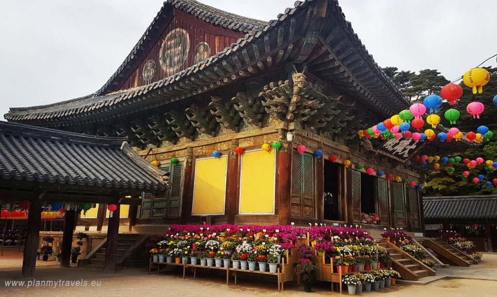 Korea Południowa Gyeongju Bulguksa Temple