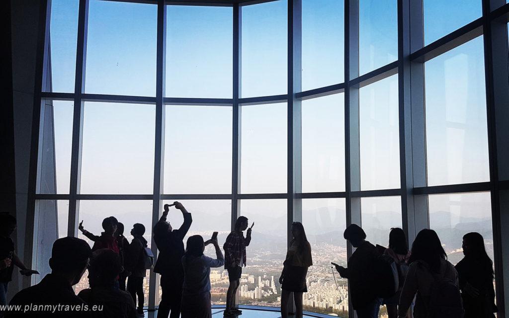 Korea Południowa -autorski plan podróży Seul wieża Lotte World Tower