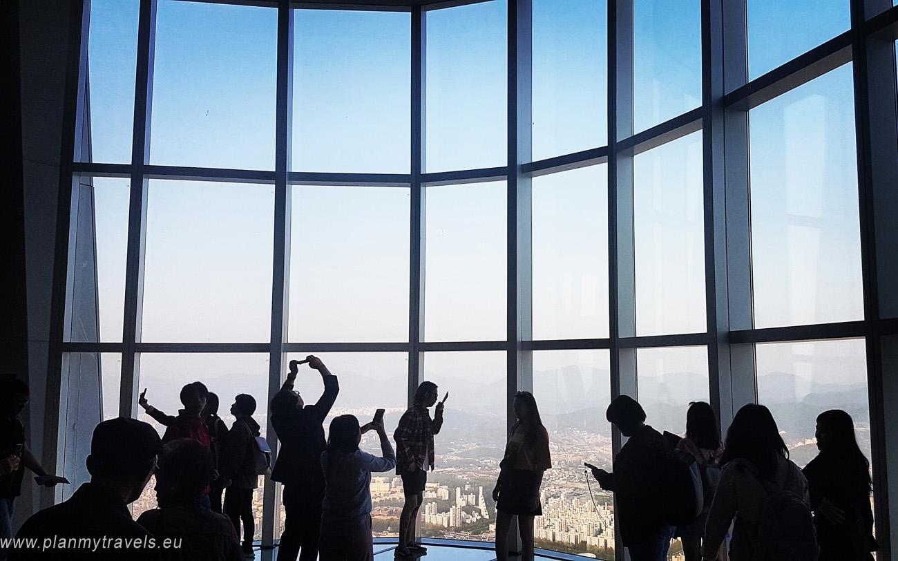 Korea Południowa Seul wieża Lotte World Tower, Seul jak spędzić czas wolny