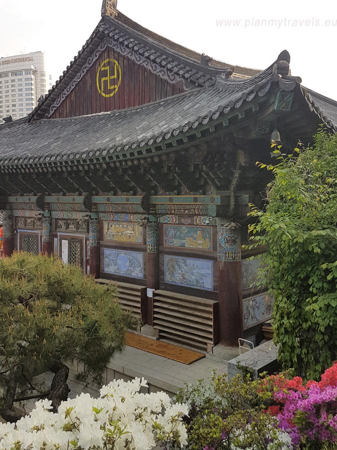 świątynia Bongeunsa Seul najważniejsze atrakcje przewodnik Korea Południowa