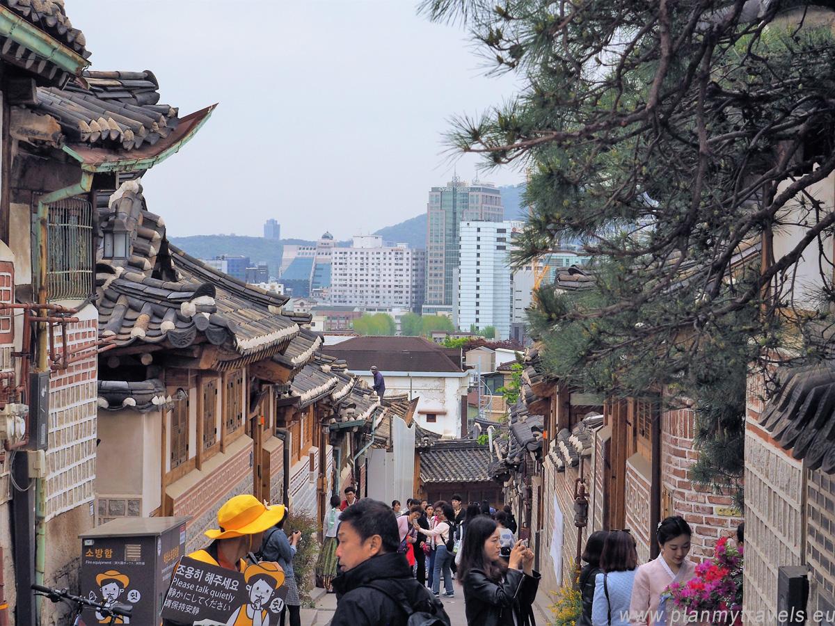 Bukchon Hanok Village Seul najważniejsze atrakcje przewodnik, Seul, Korea Południowa, plan podróży, travel