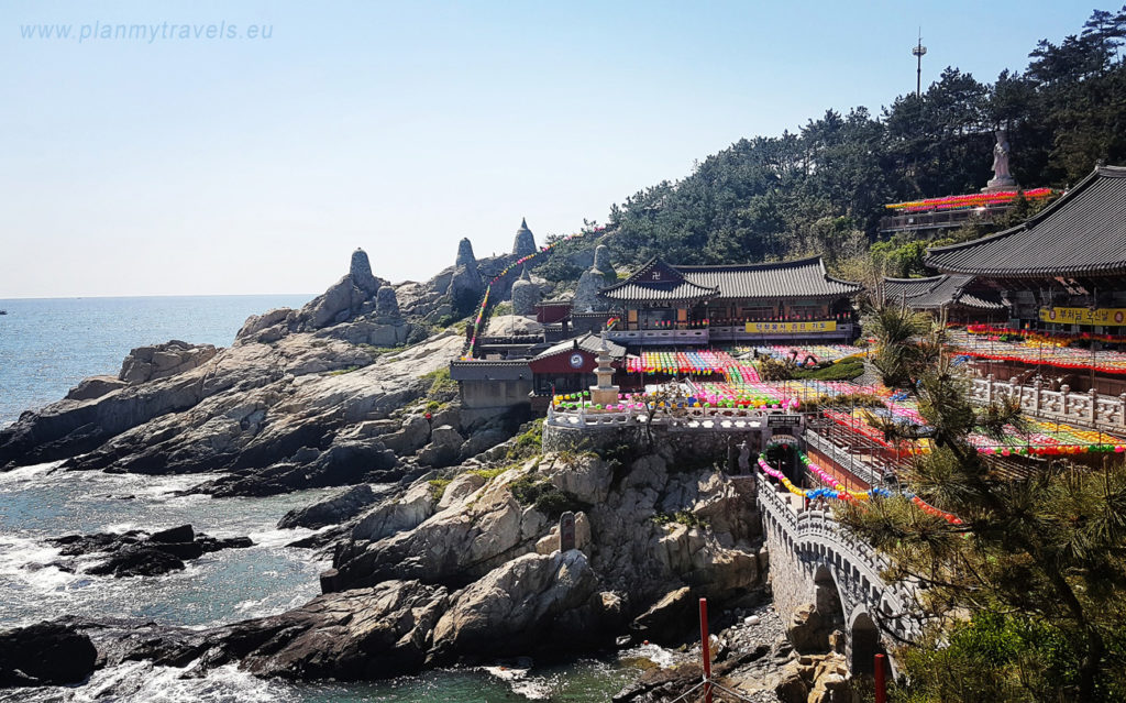 South Korea Busan Haedong Yonggung Temple travelling, trip visiting places
