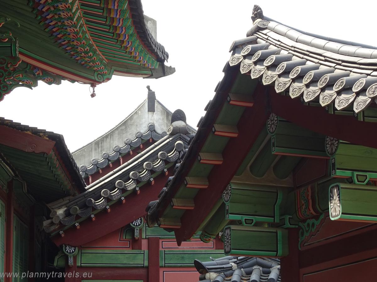 pałac Changdeokugung Seul najważniejsze atrakcje, przewodnik, Seul, Korea Południowa, plan podróży, travel