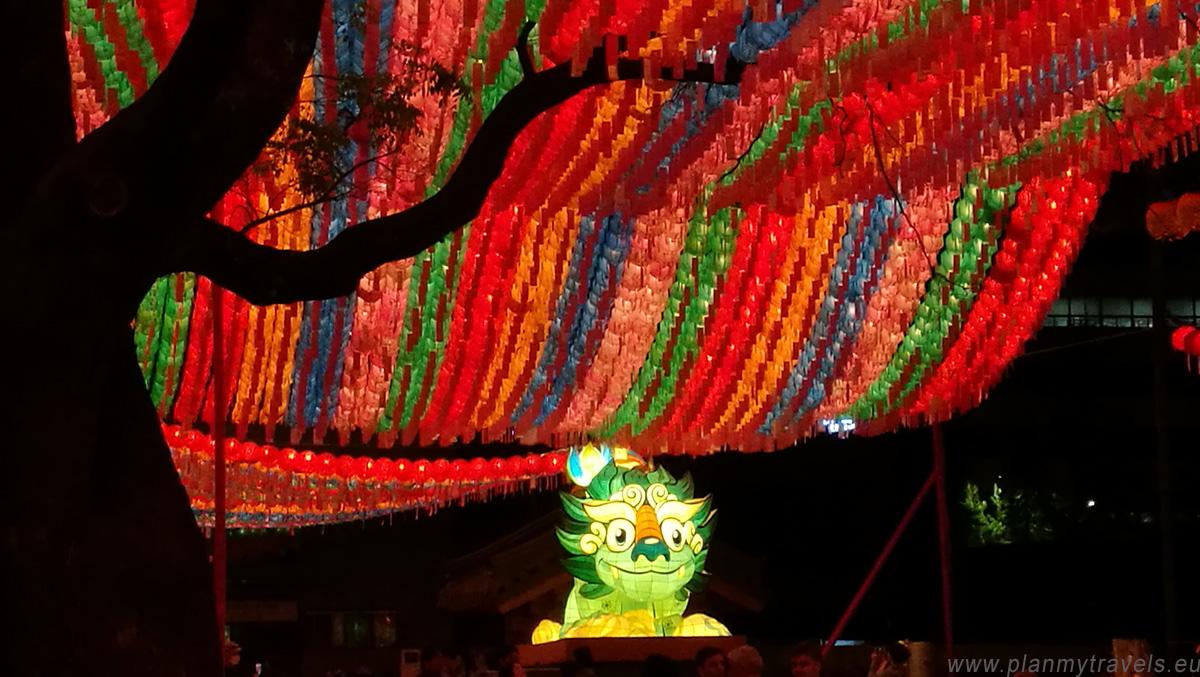 Seul świątynia buddyjska Jogyesa, Tradycyjny Festiwal Kulturalny