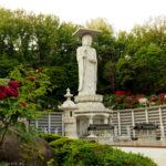 Seul świątynia Bongeunsa pomnik Maitreji Buddy