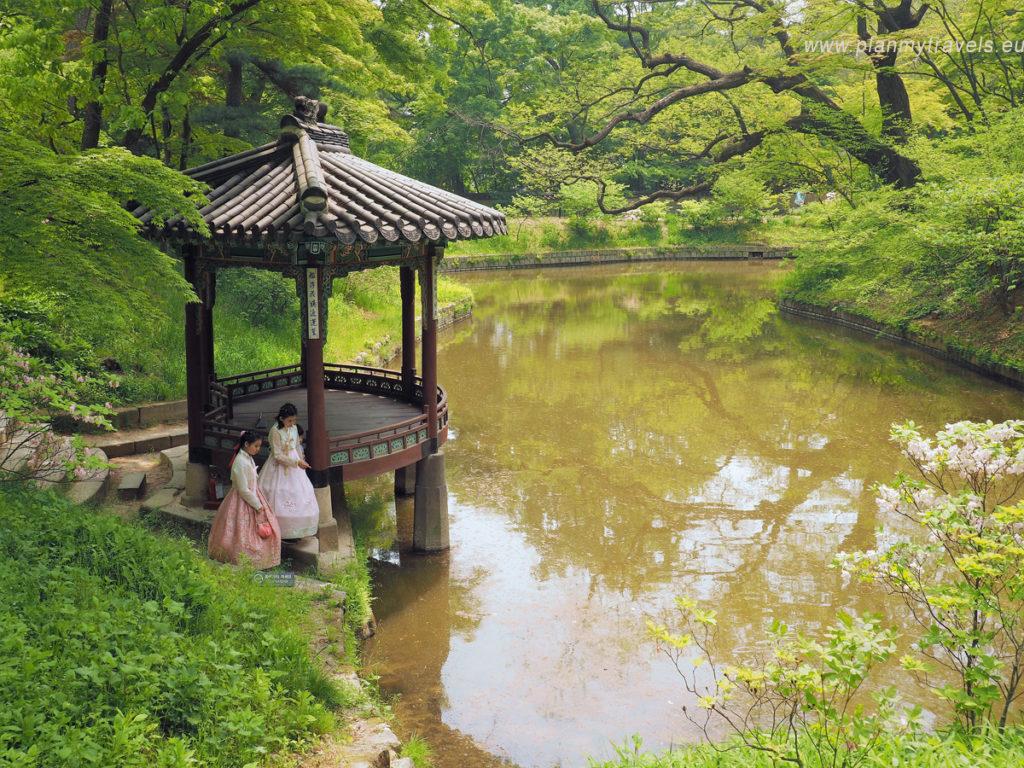 pałac Changdeokugung Tajemniczy Ogród Seul najważniejsze atrakcje, przewodnik, Seul, Korea Południowa, plan podróży, travel