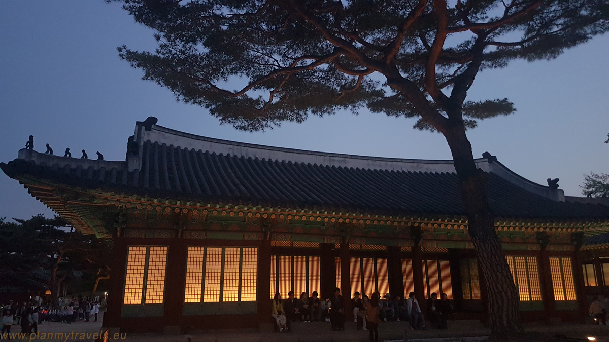 Seoul Changgyeonggung Palace by night, Seoul, South Korea, travel plan