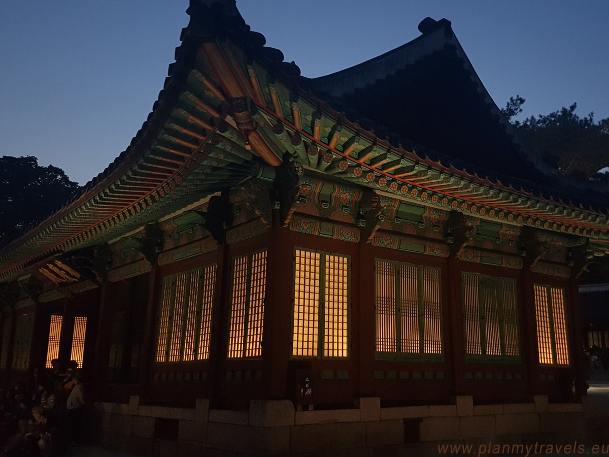 Changgyeonggung Palace by night, Seoul, South Korea, travel plan, must-see places