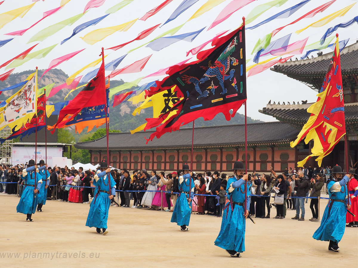 Gyeongbokgung Palace and Changing Guards Ceremony, Seoul, South Korea, travel plan, must-see places