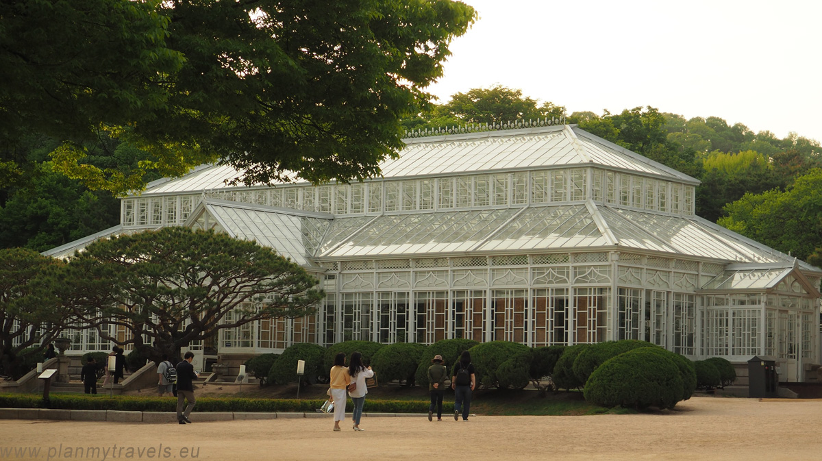 Greenhouse Changgyeonggung Palace