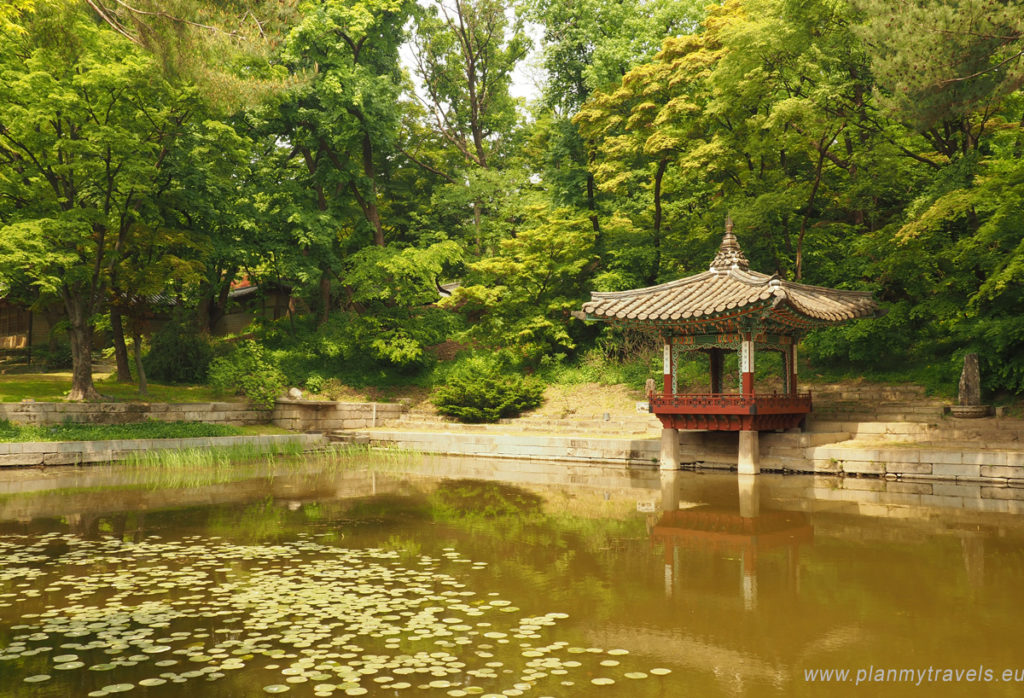 Seoul – the most important tourist attractions Changdeokugung Palace, Secret Garden, Seoul, South Korea, travel plan