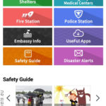 South Korea, Emergency Ready App