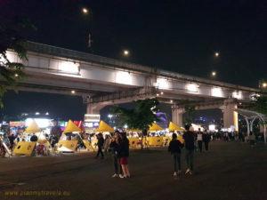 Seul, Korea Południowa, Banpo Bridge nocny market
