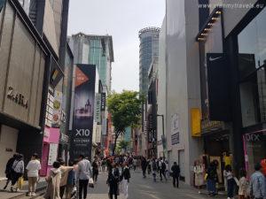 Korea Południowa, Seul, Myeongdong, zakupy, Seul jak spędzić czas wolny