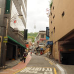 N-Seoul Tower, droga na szczyt góry Namsan