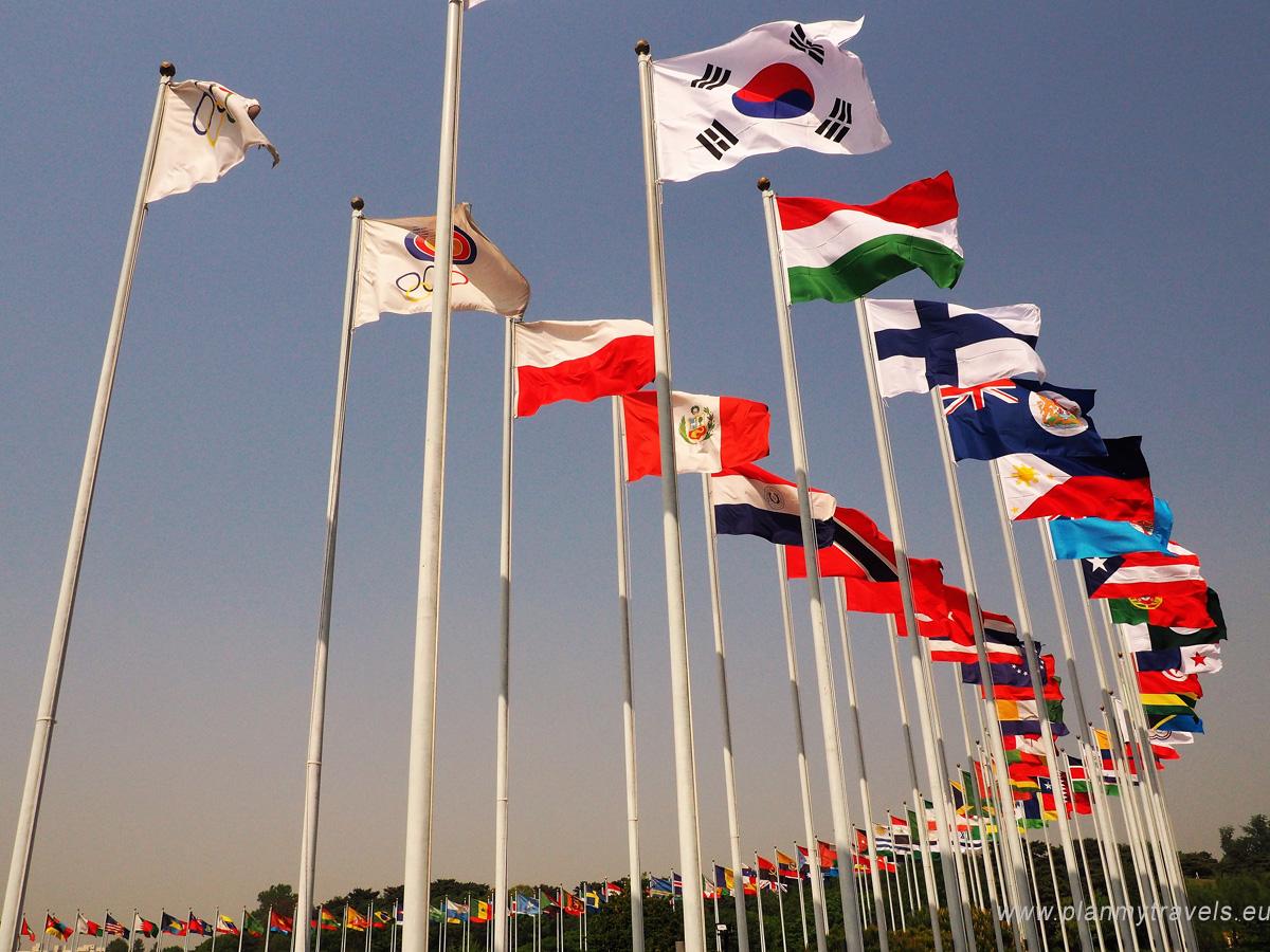 Korea Południowa, Seul, Park Olimpijski, Igrzyska w Korei, Seul jak spędzić czas wolny