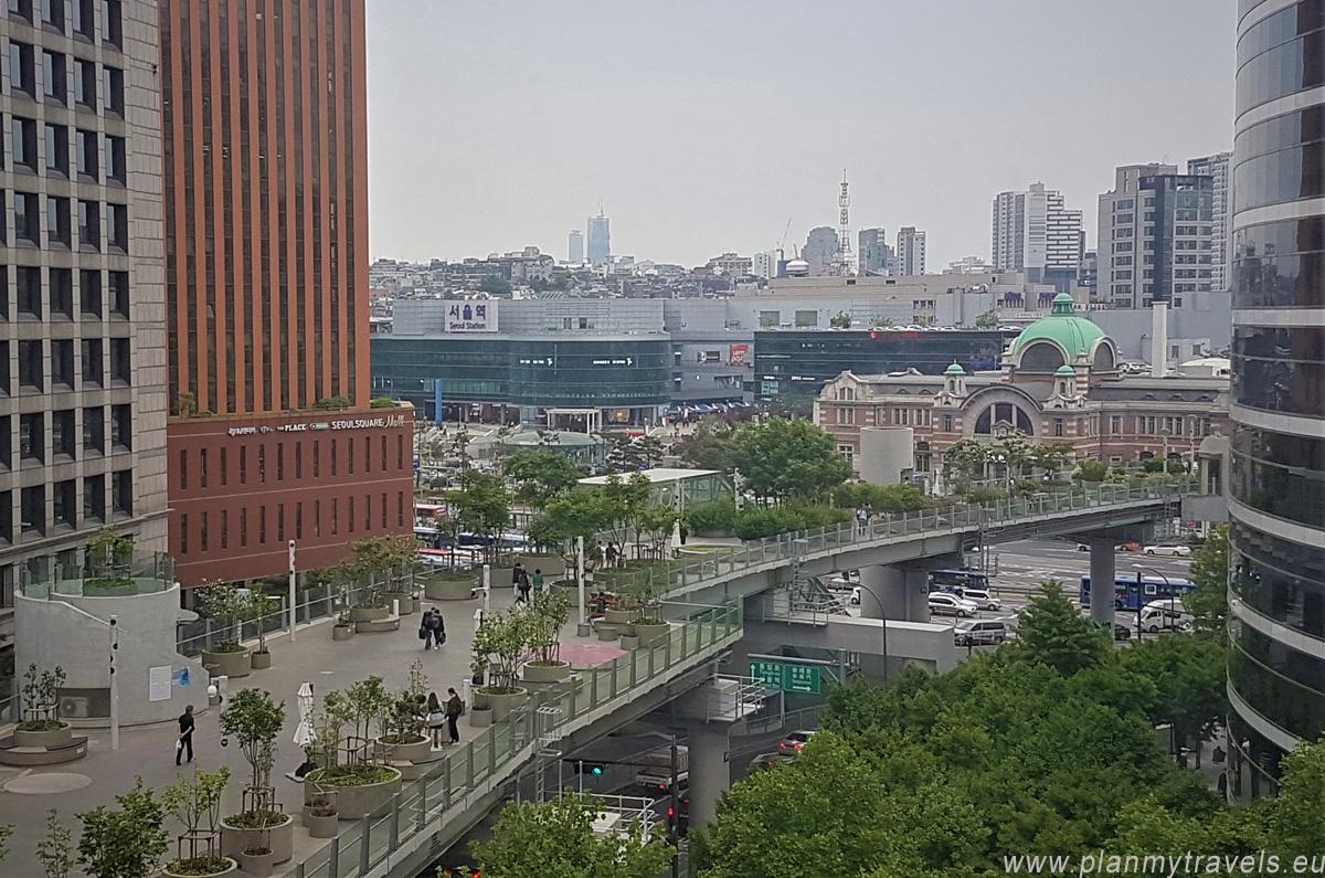 Korea Południowa, Seul, kładka Seoullo 7017, Seul jak spędzić czas wolny