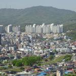 Korea Południowa, twierdza Suwon, Góra Paldalsan