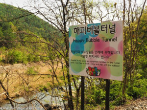 South Korea, Nami Island and Petit France, Gangchon Rail Park