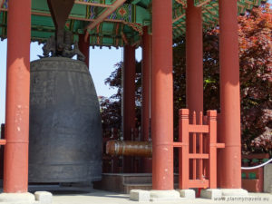 South Korea, Suwon, Paldalsan Mountain, Hyowon Bell