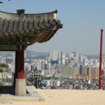 South Korea, Suwon, Paldalsan Mountain