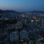 South Korea, Busan, Busan Tower, Busan - summer capital of South Korea