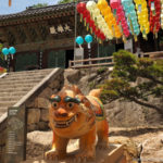 South Korea, Busan, Beomeosa temple, Busan - summer capital of South Korea