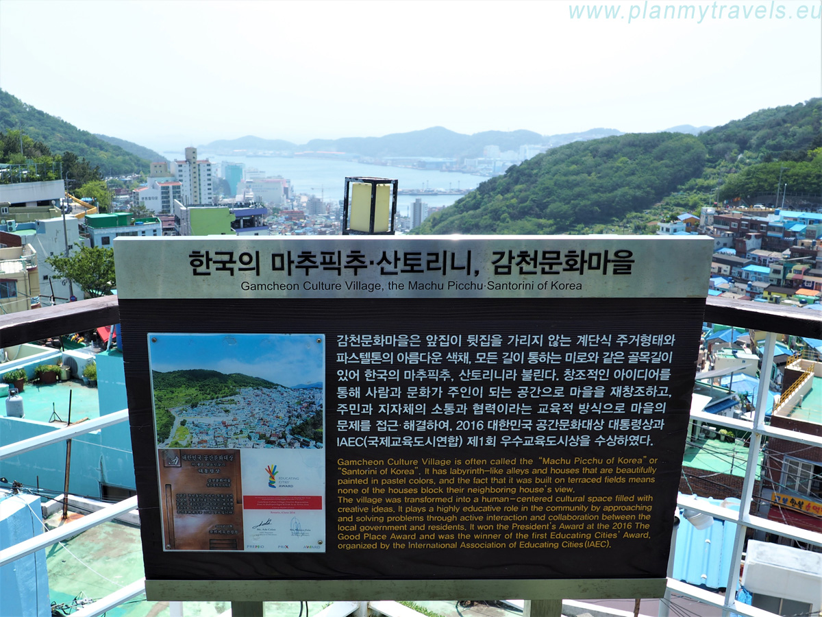 South Korea, Busan, Gamcheon Culturale Village, Art Village, Machu Picchu, Santorini of Busan