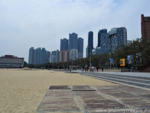 South Korea, Busan, Haeundae Beach, Busan - summer capital of South Korea