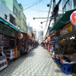 South Korea, Busan, Haeundae Market, Busan - summer capital of South Korea