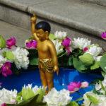 Urodziny Buddy, świątynia Donghaksa w Urodziny Buddy, świątynia Donghaksa w Gongju