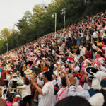 Lotus Lantern Festival, Buddhist Cheer Rally, Seoul Dongguk University