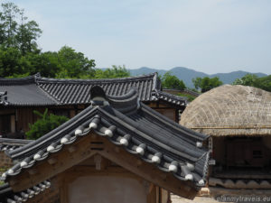 South Korea, Gyeongju, Yangdong Village