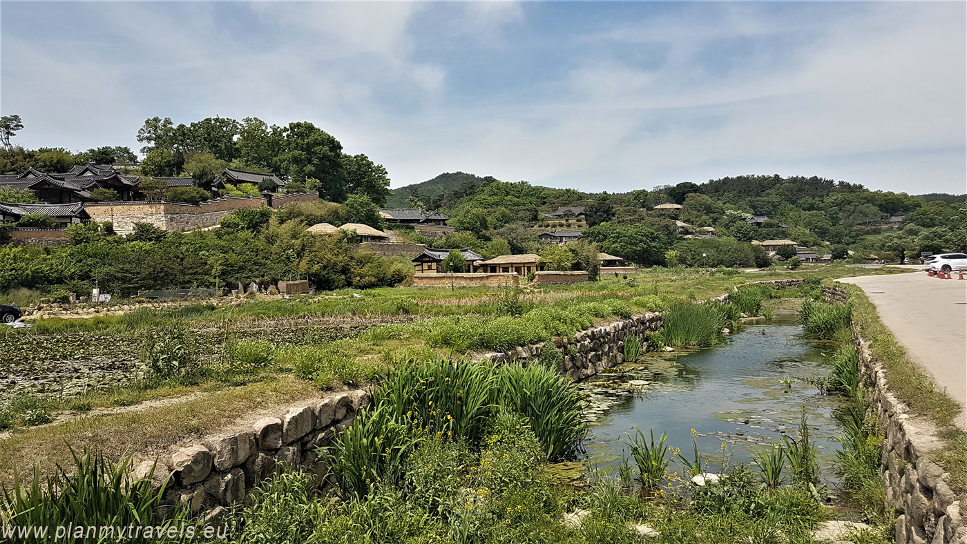 South Korea, Gyeongju Historic Areas,Yangdong Village