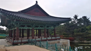 South Korea, Gyeongju Historic Areas, Gyeongju, Donggung Palace and Wolji pond (Anapji)