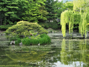 South Korea, Gyeongju Historic Areas, Gardens in Bulguksa Temple