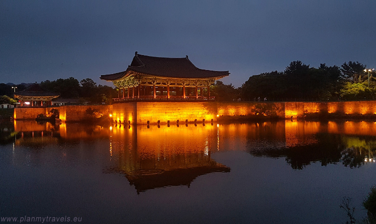 Gyeongju Historic Areas South Korea, Wolji pond