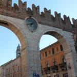 Piazza Bra w Weronie, Włochy