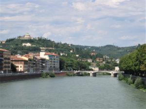 Italy, Verona, Adige river view