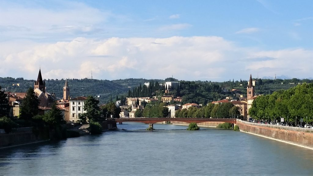 Italy, Verona, Adige river view, Verona travel guide, Verona travel plan, Verona what to see