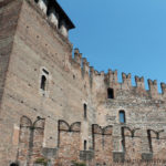 Italy, Verona, Verona Castelvecchio and city walls