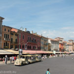 Italy, Verona, Piazza Bra
