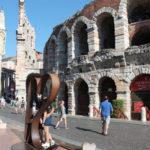 Italy, Verona, Piazza Bra, Bra Squere