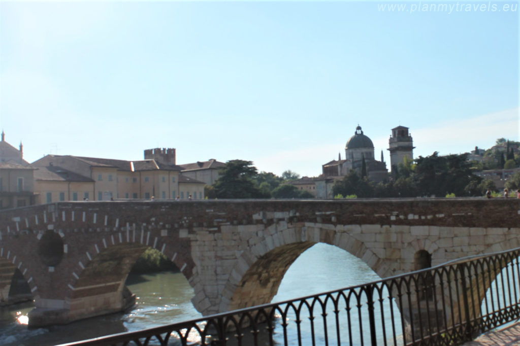 Italy, Verona, Ponte Pietra. Verona travel guide, Verona travel plan, Verona what to see