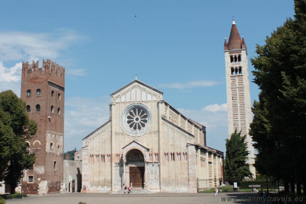 Italy, Verona San Zeno Maggiore