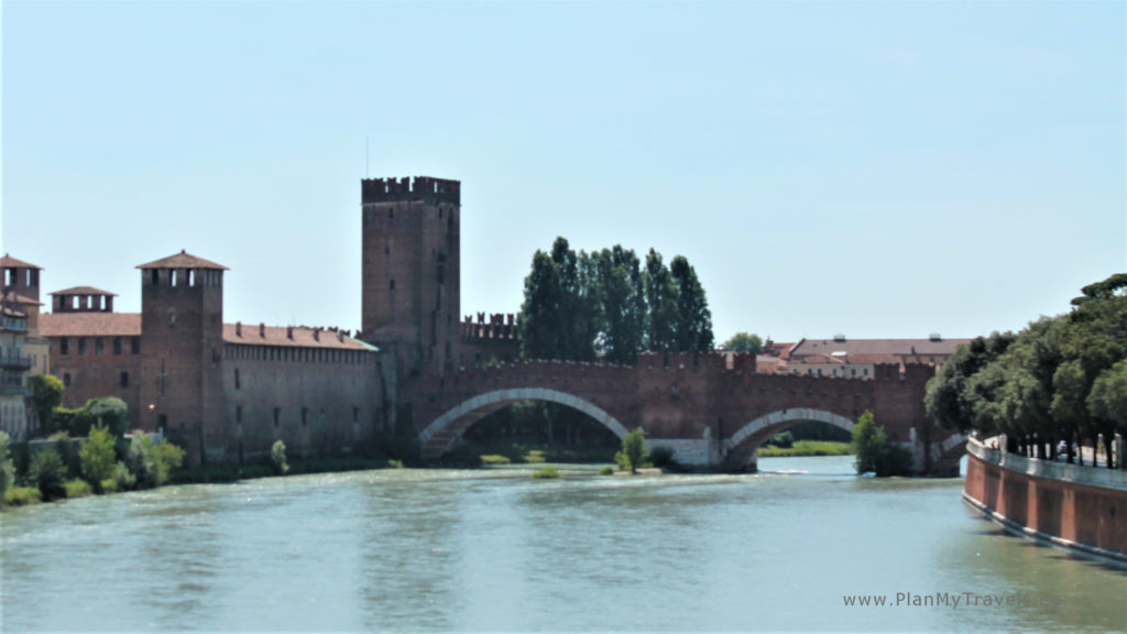 Italy, Verona Scaligero Bridge; Verona travel guide, Verona travel plan, Verona what to see